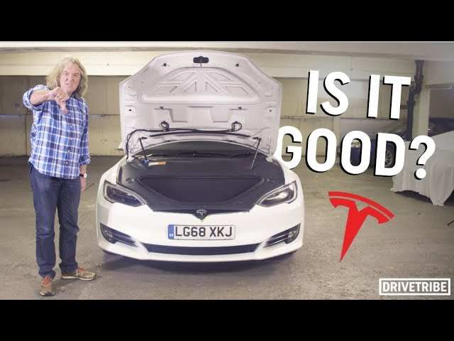 James May reviews the Tesla Model S P100D