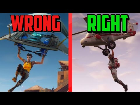How To Land FASTER Than Everyone Else In Fortnite!