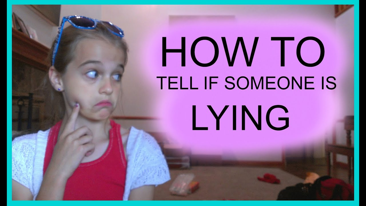 How To Tell If Someone Is Lying - Youtube-6743