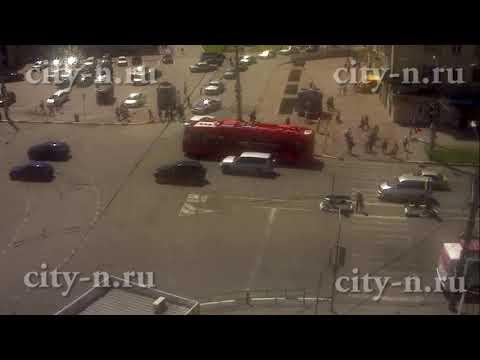 Неприятность с новым электробусом в Новокузнецке