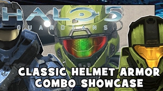 SHOWCASING ALL CLASSIC HELMETS | Halo 5: Guardians