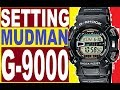 Setting G-Shock G-9000 Mudman manual 3031