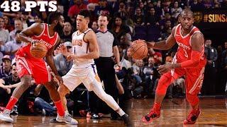 James Harden LIGHTS UP Devin Booker!! CP3 near TRIPLE DOUBLE in 20 min! Rockets vs Suns