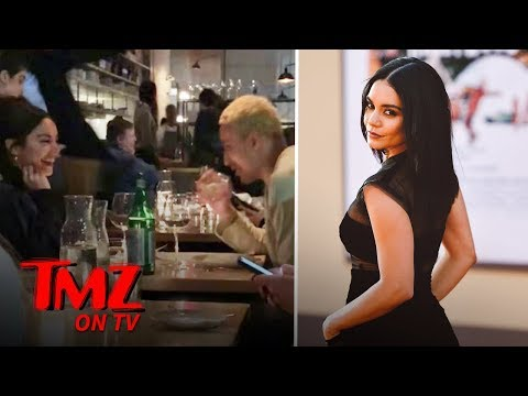 Vanessa Hudgens Grabs Dinner With Lakers' Star Kyle Kuzma | TMZ TV