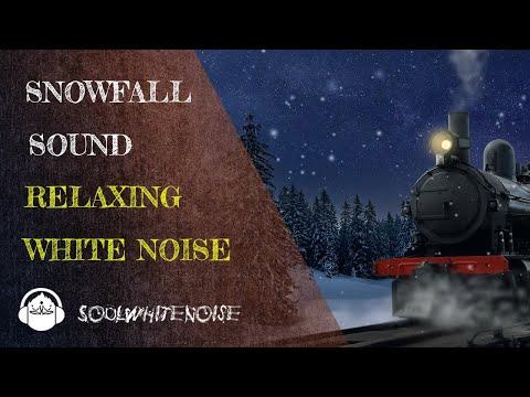 Relaxing Snowfall Sound for Sleep, Focus & Meditation | White Noise