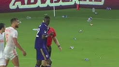 Orlando City works to ID fans who threw objects onto field