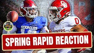 Oklahoma Football - Spring Rapid Reaction (Late Kick Cut)