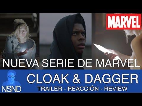 CLOAK & DAGGER  | Trailer | REACCIÓN | ANÁLISIS | Diferencias con los comics, poderes y origen