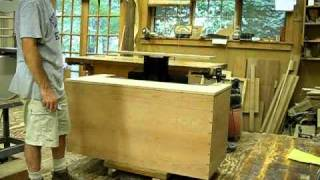 Dovetailed Cherry Blanket Chest With Tv Lift (still Under Construction)