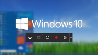 WINDOWS 10 Screen Recorder(Did you know that Windows 10 comes with it's very own screen recording software, which you can use to record your computer screen activity and gameplay., 2015-08-08T09:27:07.000Z)