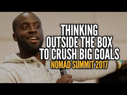 Thinking Outside the Box to Crush Big Goals - Jubril Agoro