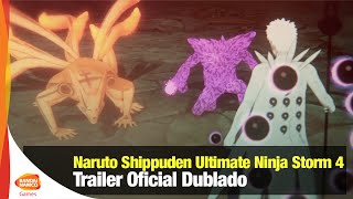 Naruto Shippuden Ultimate Ninja Storm 4 - Trailer Dublado - Bandai Namco Brasil Oficial