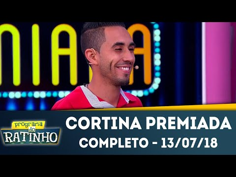 Cortina Premiada - Completo | Programa do Ratinho (13/07/2018)