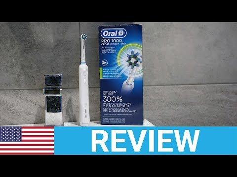 Oral-B Pro 1000 Electric Toothbrush Review [USA]