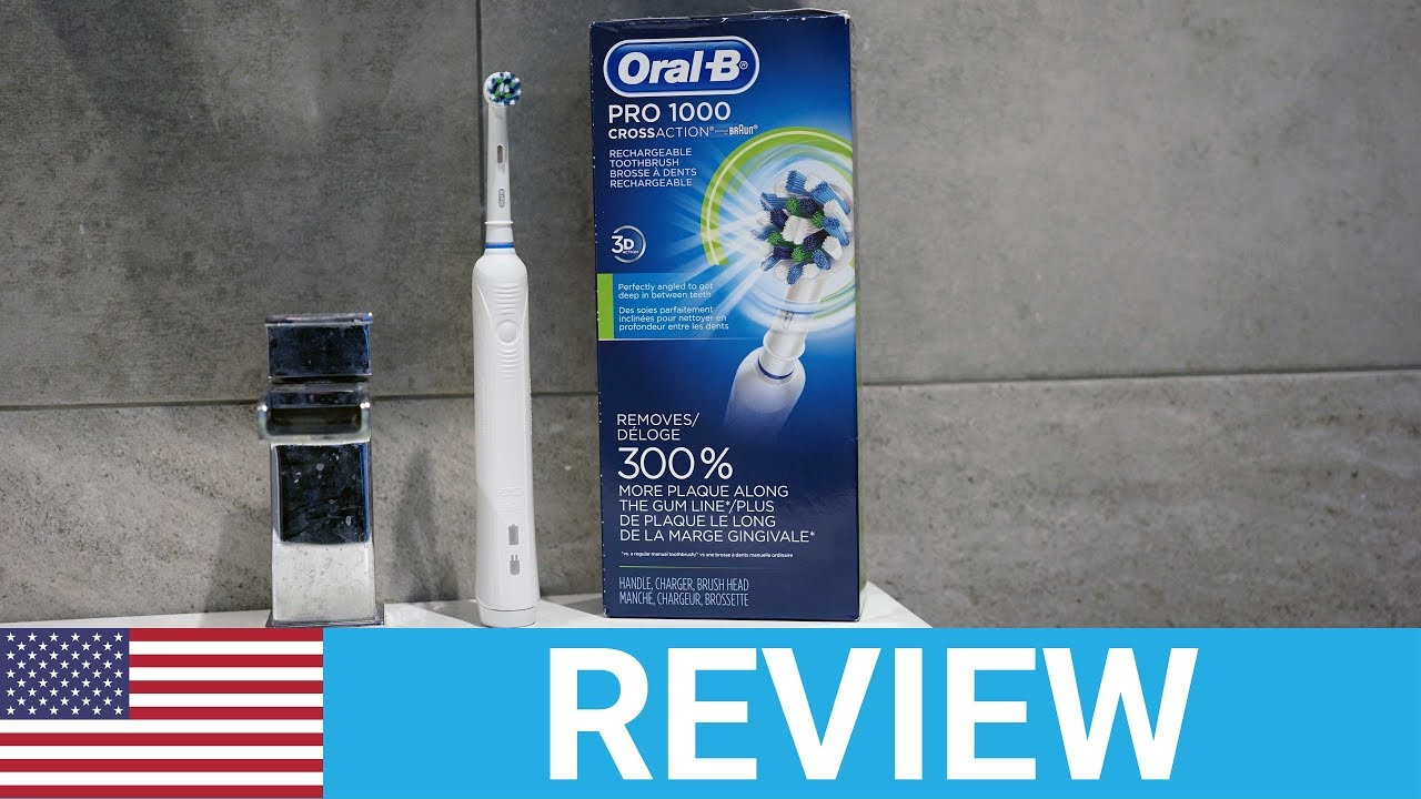 Oral-B Pro 1000 Electric Toothbrush Review - USA