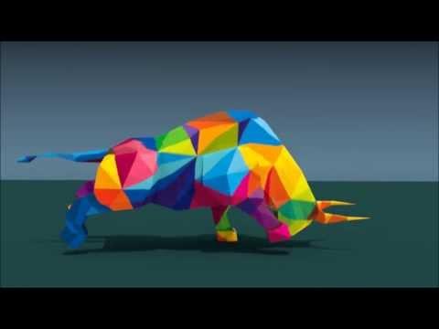 Charging Bull (Blender3D)