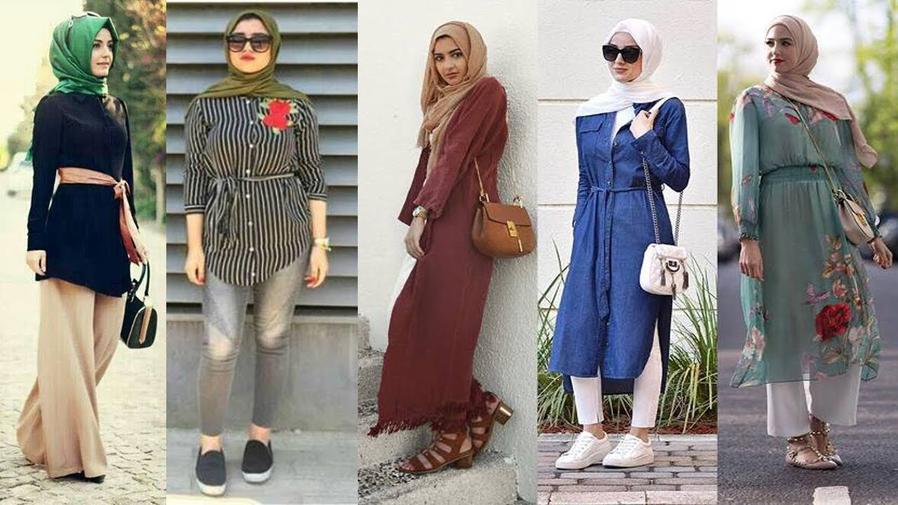 Hijab Lookbook College Hijab Outfits Ideas Hijab Fashion Style Youtube