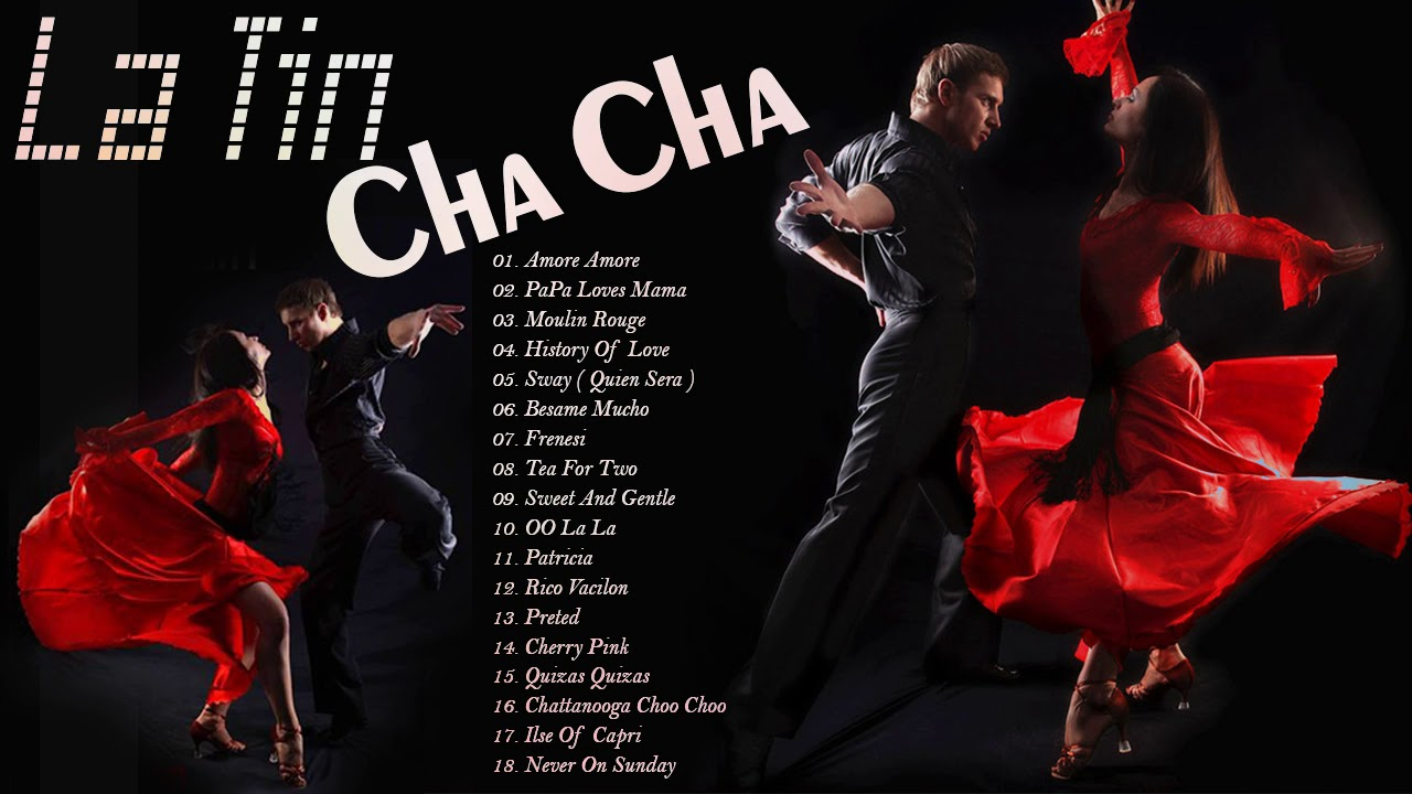 Latin Cha Cha Non Stop Instrumental Dancing Music Dancesport Music Youtube