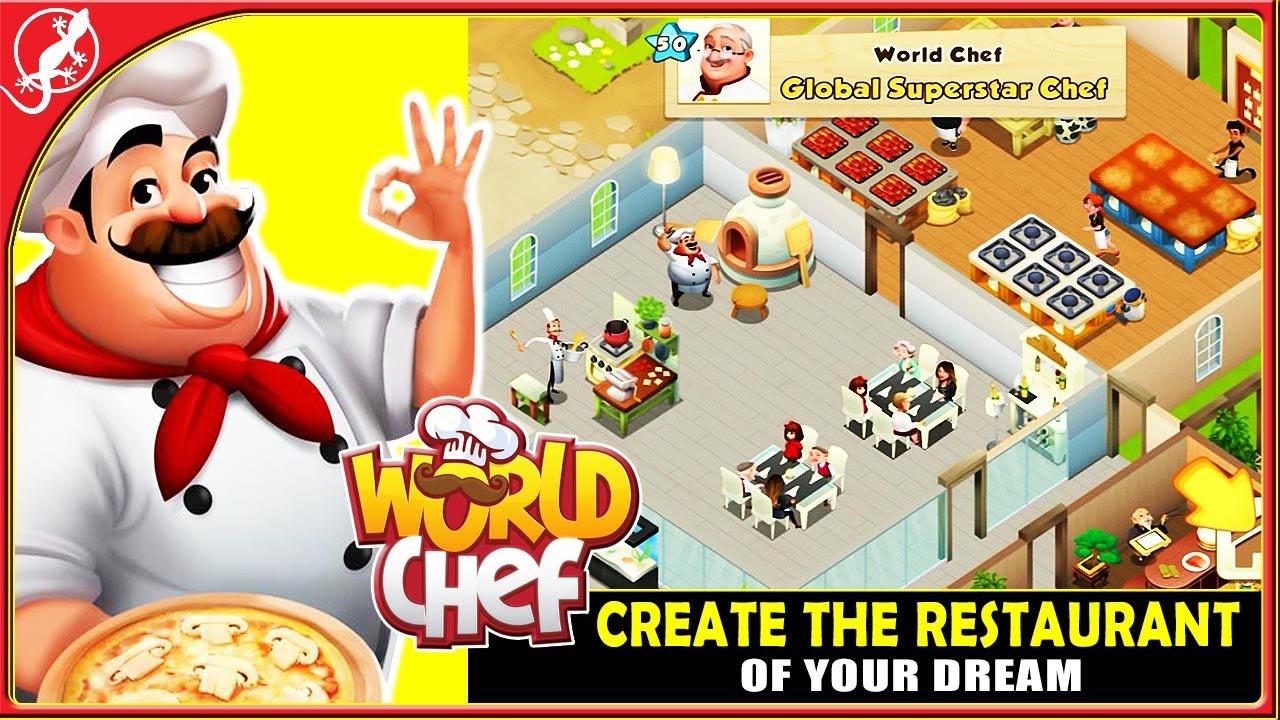 restaurant dreams chef world oyununu indir