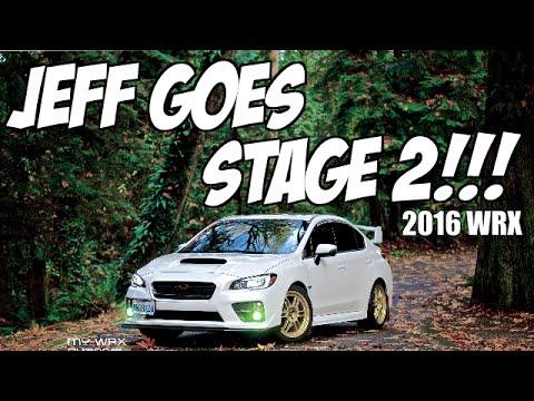 2016 Subaru WRX: Jeff Goes Stage 2!!! Grimmspeed / Kartboy / Bren Tuning