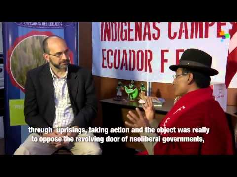 Interviews from Quito – The Ecuadorean Indigenous Federation