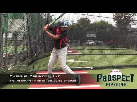 Enrique Espinoza Prospect Video, Inf, Sylmar Charter High School Class of 2020