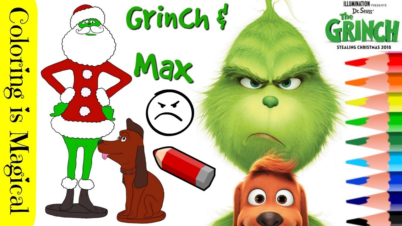 Grinch Christmas Printable Coloring Pages | Grinch coloring pages ... | 720x1280