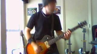Alter Bridge  - Show Me A Sign (guitar cover w/solos)