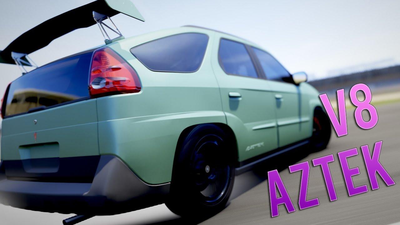 A Bad Idea Pontiac Aztek V8 Rwd Drift Buildtune Bdk Live