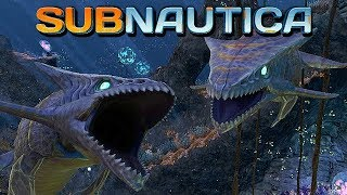Subnautica Full Release Gameplay German #07 - Aggressive Haie