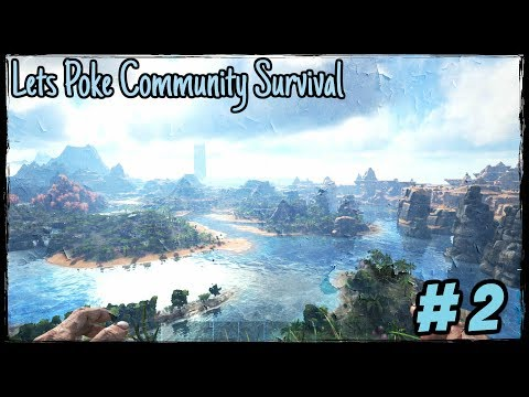 Eternal Medieval Community #2 - Wo bauen wir ? Der Traumstrand | Lets Play Ark Survival Evolved