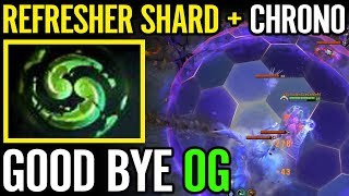 refresher from roshan max aoe chrono old eleven vs og dota 2