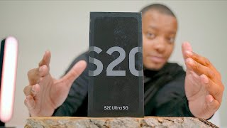 Samsung Galaxy S20 ULTRA Unboxing - The BIG One!