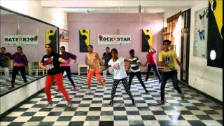 Get up jawani- honey singh - free style hip hop by Rocsktar academy chandigarh