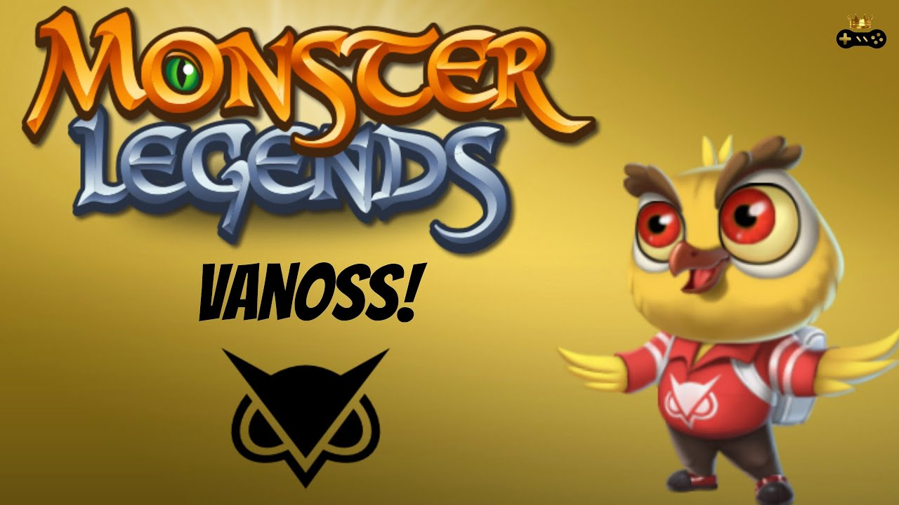 PLAYING VANOSSS MOBILE GAME Monster Legends YouTube