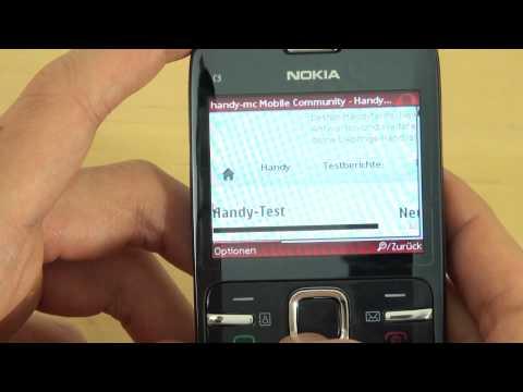 Nokia C3 Test Internet