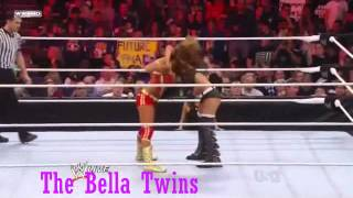 Eve Torres-All Heart Breakers(Snap Swining Neckbreaker)Update 2/10/12