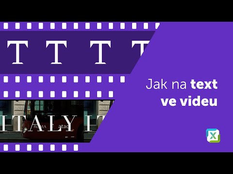 Video - Jak pracovat s textem ve vrstvách