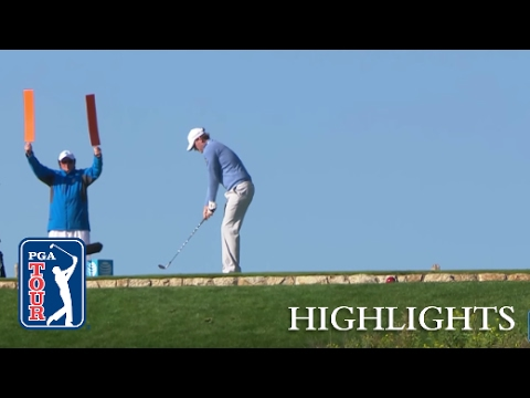 Highlights | Jordan Spieth holds a commanding lead at AT&T Pebble Beach
