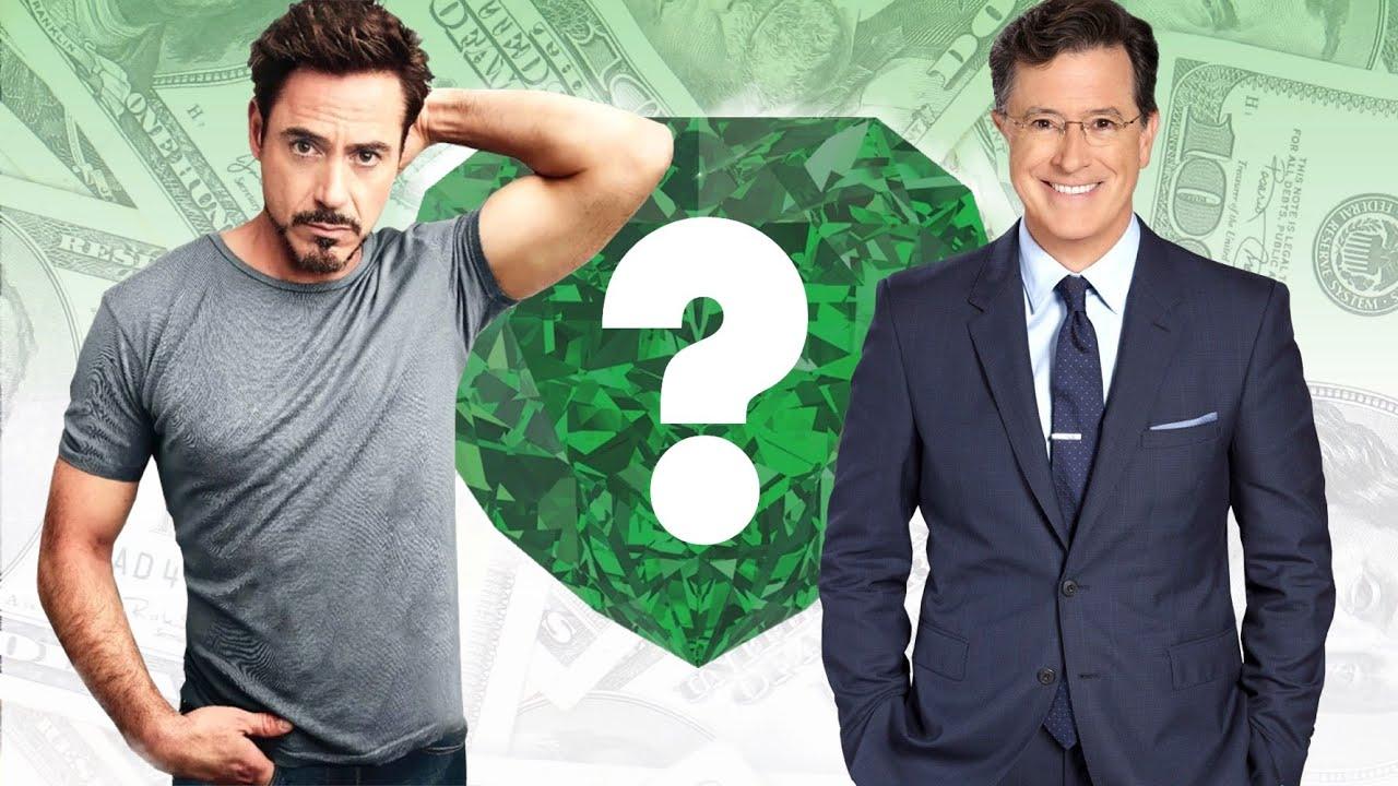 WHO'S RICHER? - Robert Downey Jr. or Stephen Colbert? - Net Worth ...