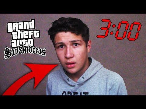 ESTO PASA SI JUEGAS GTA SAN ANDREAS A LAS 3:00 AM - Grand Theft Auto SA CREEPYPASTA