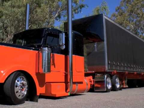 80 Chevy Truck >> Ultra Cool Peterbilt 379 Low Ride - YouTube
