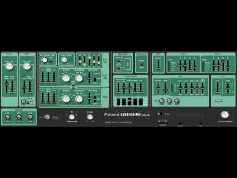 Free Roland SH-7 plus SH-5 Synthesizer VST Emulation