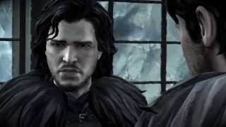 Game of Thrones - Episode 2 The Lost Lords - Jon Snow Conversation