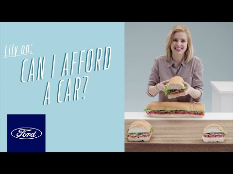 Creating a Budget: Can I Afford a Car? | Auto Finance 101 | Ford