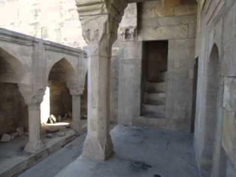 Inside Shirvanshahs Palace   Old Town   Baku   Azerbaijan   October 2013