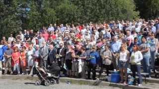 Nationaldagsfirande Östersund 2013