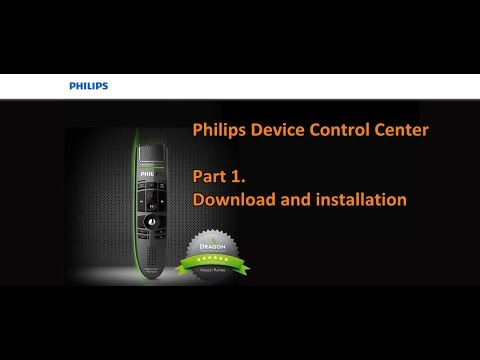Philips Device Control Center - part 1. - Installation