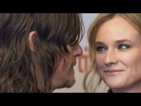 Norman Reedus Girlfriend • Diane kruger • 2018