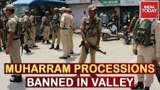 Restrictions Reimposed In Kashmir Valley Following Clashes During Muharaam Processions